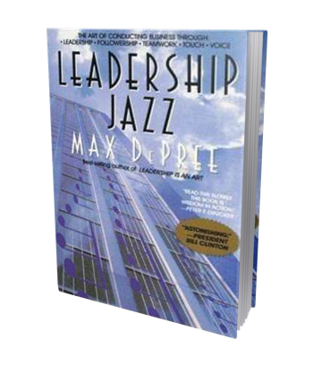 Leadership Jazz book cover