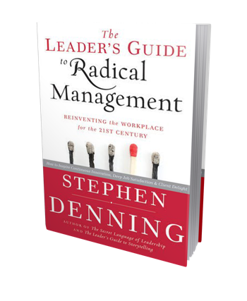 The Leaders Guide to Radical Management book cover